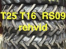 Rehvid T-25, T-16, RS-09-le