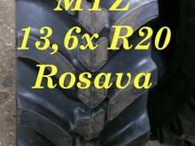 MTZ rehvid: 13,6 - R20 (360/70xR20) ROSAVA
