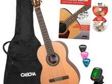 4/4 klassikalise kitarri komplekt Cascha HH 2139 E