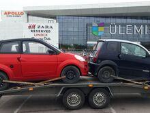 Mopeedauto, terve või remonti vajava