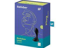Satisfyer Backdoor Lover Anal Vibrator Black