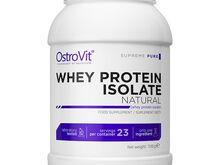 OstroVit Whey Protein Isolate, proteiini isolaat, naturaalne maitse 700g