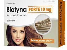 Activlab Biotyna Forte, biotiin 10mg 30kps