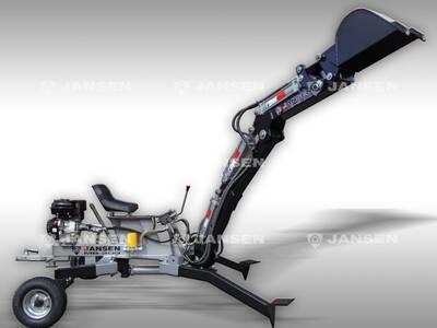 Jansen miniekskavaator MB-300